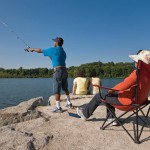 Fishing at Heart Lake Conservation Area